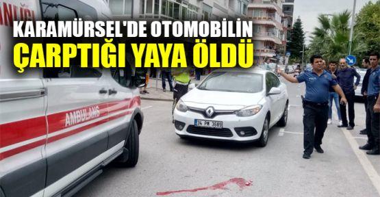 Karamürsel'de otomobilin çarptığı yaya öldü