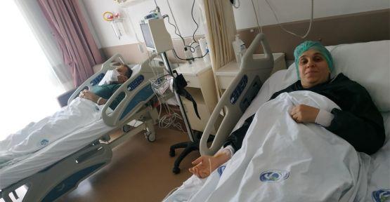Kızının böbreğiyle sağlığına kavuştu