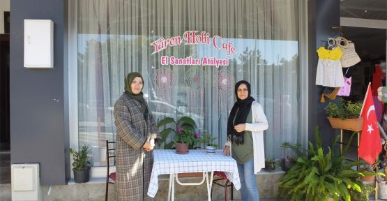Kocaeli'de ilk ve tek: Yaren Hobi Cafe