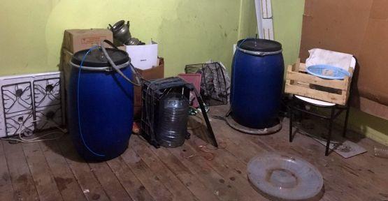 Kocaeli'de sahte içki operasyonu