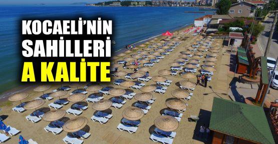Kocaeli'nin sahilleri A kalite