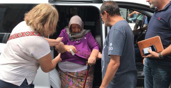 Maskeli soyguncular yaşlı kadının evinden para ve altın çaldı