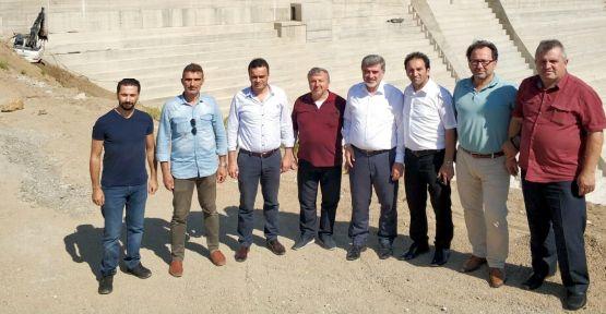 Milletvekili Çakır'dan İhsaniye Barajı'nda inceleme
