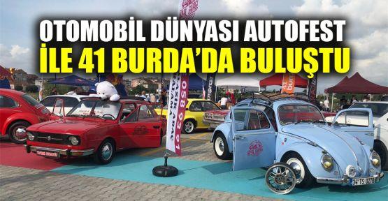 Otomobil dünyası AUTOFEST ile 41 Burda'da buluştu