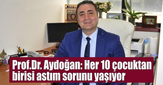 Prof.Dr. Aydoğan: Her 10 çocuktan 1'i astım sorunu yaşıyor