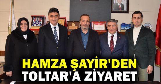Şayir'den, Başkan Toltar'a ziyaret