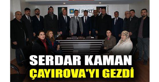 Serdar Kaman, Çayırova'yı gezdi