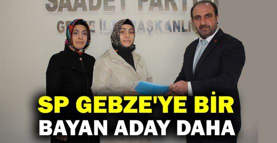 SP Gebze'ye bir bayan aday daha