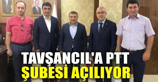 Tavşancıl'a PTT şubesi açılıyor
