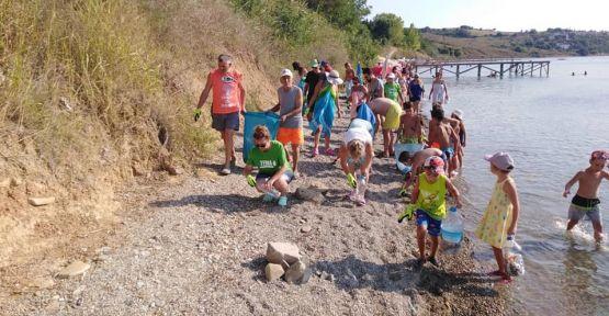 TEMA'dan plajlarda temizlik çalışması