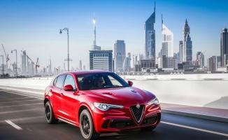Alfa Romeo Stelvio Quadrifoglio'ya