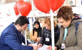 Altıeylül Belediye Başkanı Avcı organ bağışı kampanyasına katıldı