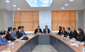 Bilecik'te halk eğitim ve mesleki eğitim merkezi müdürleri toplantısı