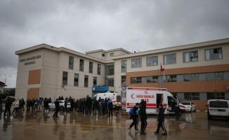 Bursa'da ağır kokudan etkilenen öğrenciler hastaneye kaldırıldı