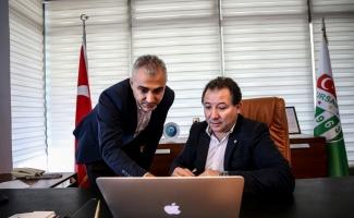 Bursaspor Başkanı Mesut Mestan, AA'nın
