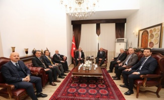 Çevre ve Şehircilik Bakan Yardımcısı Demirtaş'tan Vali Nayir'e ziyaret