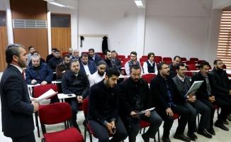 Edirne'de din görevlilerine