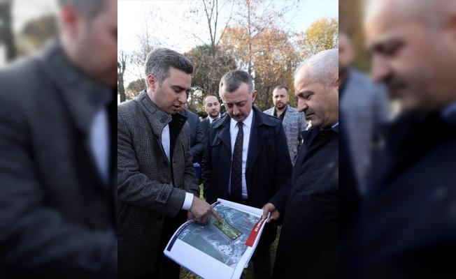 Fatih'in otağını kurduğu Hünkar Çayırı cazibe merkezi olacak