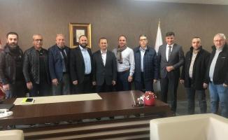 Gebze Gazeteciler Cemiyeti, Başkan Vekili Çakmak'ı ziyaret etti