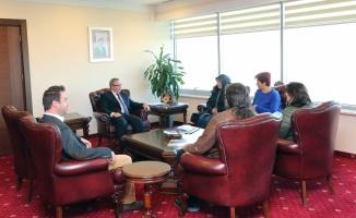 Girişimci kadınlardan Trakya Üniversitesine ziyaret