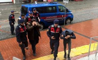 Kocaeli'de inşaattan hırsızlık yaptıkları iddiasıyla 3 şüpheli tutuklandı