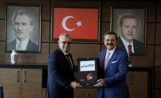 Hisarcıklıoğlu, Keşan Belediye Başkanı Helvacıoğlu'nu ziyaret etti