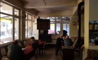 Kahvehanelerden televizyonlar çalındı