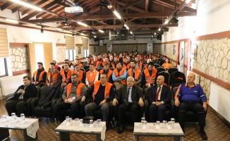 Kırklareli'nde AFAD gönüllülerine afet eğitimi verildi