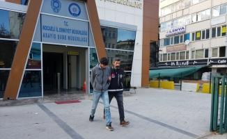 Kocaeli'de cep telefonu hırsızlığı zanlısı tutuklandı