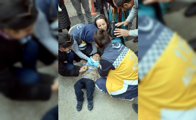 Kocaeli'de otomobilin çarptığı 6 yaşındaki çocuk yaralandı