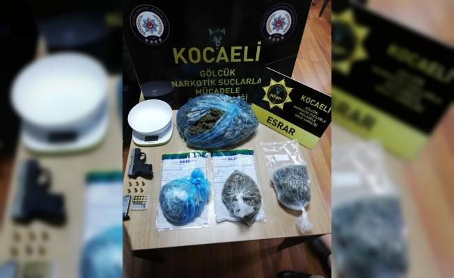 Kocaeli'de uyuşturucu operasyonunda yakalanan 3 şüpheli tutuklandı