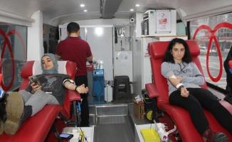 Manyas'ta kan bağışı kampanyası