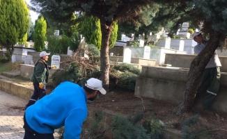 Mezarlıklara periyodik bakım