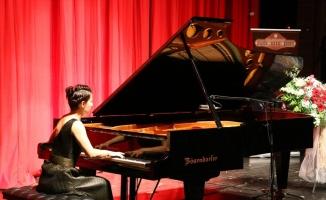Piyanist Birsen Ulucan Tekirdağ'da sahne aldı
