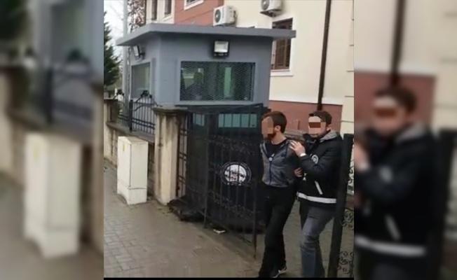 Evlerden hırsızlık yaptığı iddiasıyla 2 kişi tutuklandı