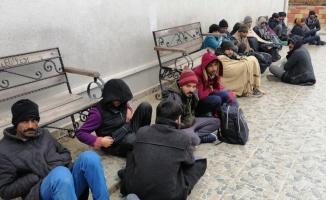 Tekirdağ'da kamyonette 46 düzensiz göçmen yakalandı