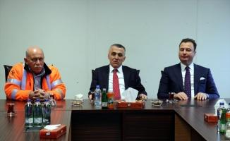 TürkAkım sahasını inceleyen Kırklareli Valisi Osman Bilgin: