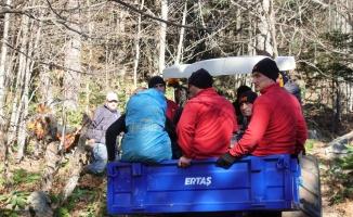 Uludağ'da iki arkadaşı arama çalışmalarında ceset bulundu