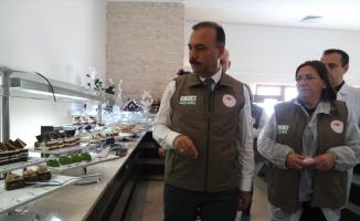 Uludağ'daki turistik tesislerde yılbaşı öncesi gıda denetimi