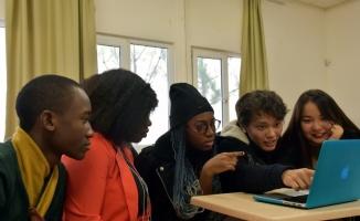 Uluslararası öğrenciler AA'nın