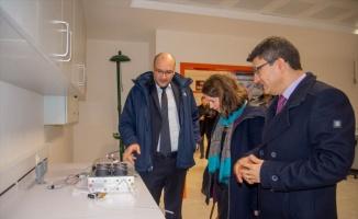 Almanya Kültür Ataşesi Hülskemper'den BŞEÜ'ye ziyaret