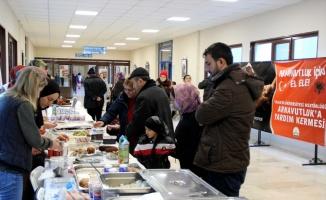 Arnavutluk'taki depremzedeler için Edirne'de kermes düzenlendi