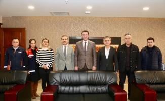 Balıkesir AFAD İl Müdürü Şahin, Bandırma Belediye Başkanı Tosun'u ziyaret etti