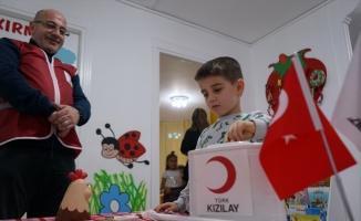Balıkesir'de kreş öğrencileri harçlıklarını Elazığ'daki depremzede çocuklar için bağışladı