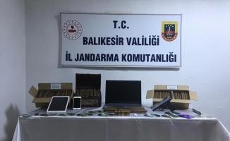 Bandırma'da kaçak sigara operasyonu