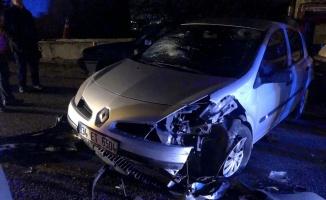 Beykoz'da trafik kazası: 2 yaralı