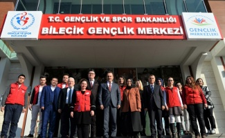 Bilecik Valisi Şentürk, gençlik liderleriyle buluştu