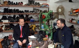 Bilecik Valisi Şentürk'ten yılın ahisine ziyaret