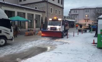 Bilecik'te karla mücadele çalışmaları