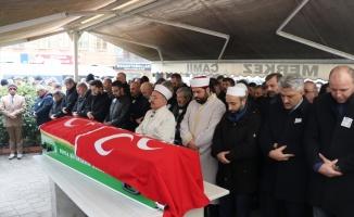 Bursa'da hayatını kaybeden MHP İlçe Başkanı Beysir, toprağa verildi